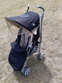 Maclaren XLR set, buggy pushchair stroller