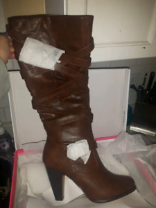 Size 10 wide calf boots