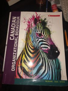 Canadian Organization Behaviour Textbook 10th edition
