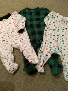 Infant Sleepers - Size 3-6 month