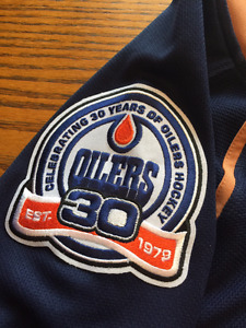 30th Anniversary Oilers Jersey