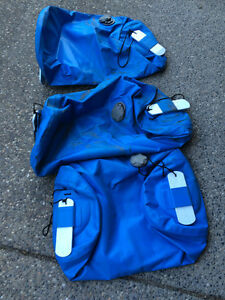 3 Inflatable Raft Seats with Leafield C7 Valves