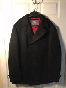 DH3 XL Black Wool Jacket