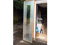 4 sliding wardrobe mirrored doors
