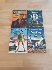 BREAKING BAD DVDs - Season 1 & 2 & 4 & 5