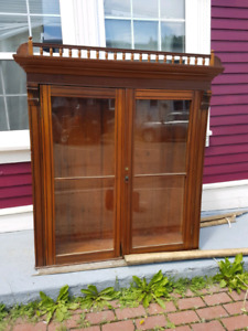 China cabinet/glass door hutch *SOLD*