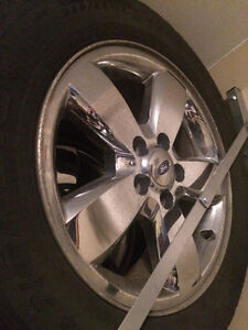 Ford Escape Snow Tires and Rims