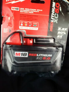 M18™ REDLITHIUM™ XC5.0 Extended Capacity Battery Pack
