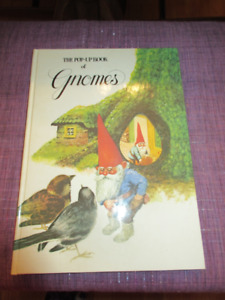 The Pop-Up Book of Gnomes 1979 by RIEN POORTVLIET