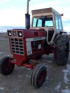 International 966 Farmall tractor