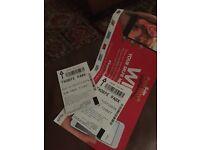 Thorpe park 2 tickets £29