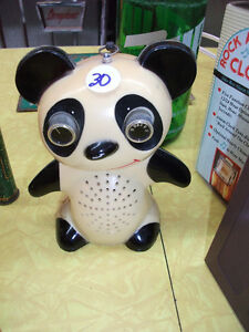 CUTE!!! Transistor Luxtone   PANDA ours fonctionnel