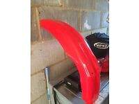 Honda crf front mudguard (dirt bike, motocross bike)