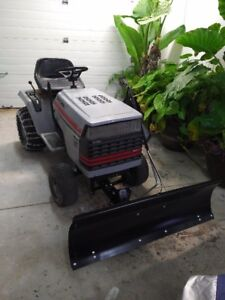 Craftsman 18 HP Riding Lawnmower with Snow Blade