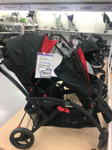 Brand-new Stroller for twin and newborn car seat for sell