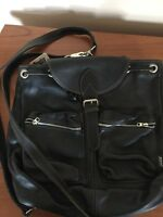 Rugby leather bag