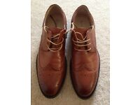 Route 21 mens brown shoes brogues