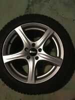Mercedes Benz/Audi/VW rims with snows