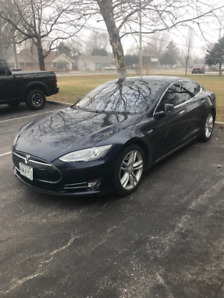 2014 Tesla Model P85 TECH PACKAGE PANORAMIC ROOF NAPPA LEATHER