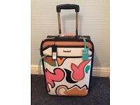 Brand new river island suitcase with tags
