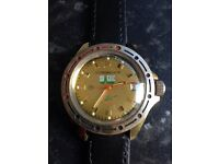 Men's vintage manual wind watch