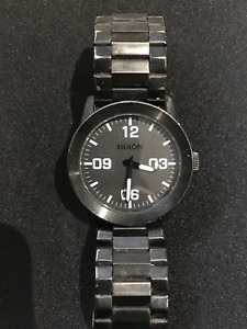 *Nixon Men's A346 48mm Corporal SS Watch* - Used/Good Condition