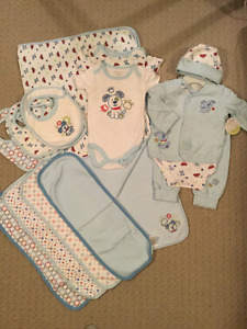 Newborn Boys' Layette Bundle