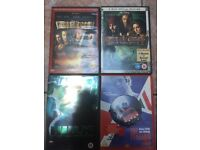 DVDs - hulk, pirates of the Caribbean, the Italian job