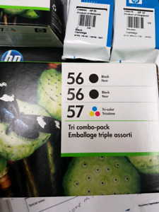 HP 56 AND 57 INK
