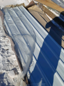 Steel roofing/siding
