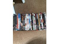 Dvd collection x 25