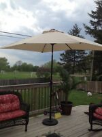 Brand New 11ft rectangle solar umbrella