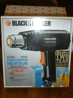 HeatGun - Black & Decker BD1602- 1600W Bakery Hill Ballarat City Preview