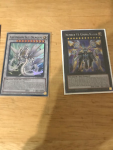 Selling Yugioh Prize Cards (Ascension Sky Dragon & Utopia Kaiser