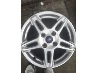 Ford Fiesta Zetec alloys for sale 15""