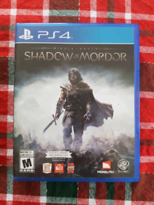 PS4 - Shadow Of Mordor