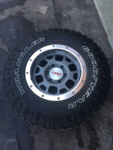 Toyota Tacoma / 4Runner TRD beadlock rims / mags with duratrac