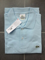 Brand New Mens Baby Blue Lacoste Polos Size 3,4,5,6,7,8,9 & 10