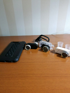3 olloclip lenses with case for iPhone 6 6s plus