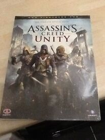 ASSASSINS CREED UNITY GAMING GUIDE. BRAND NEW STILL SEALED.