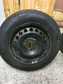 Spare wheel/golf