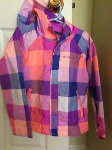 Girl's Columbia rain jacket (Siz4 xxs (4/5)