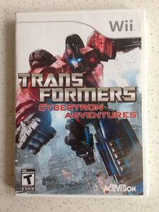Wii transformers cybertron adventures