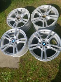"Bmw 3 series M Sport 18"" alloys wheels"