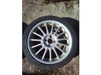 Rover ZS 180 alloy wheels