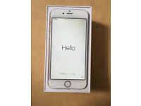 Apple Iphone 6, Gold 16GB, Nearly New Condition, Boxed on Vodafone