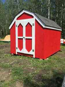 Shed 8 x 10 Barn Style Finished and Ready to go