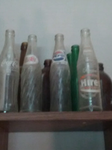 Old bottle collection