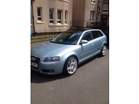 Audi a3 diesel auto with full glass roof