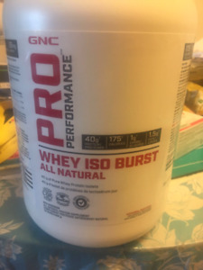 ***Unopened ****GNC PRO PERFORMANCE WHEY ISO BUSRST